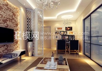 De couleur claire salon moderne style 3d model download - Style de salon moderne ...