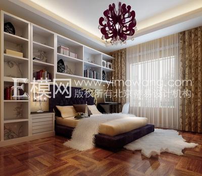 Chambre de style moderne 3d model download free 3d models for Style de chambre moderne