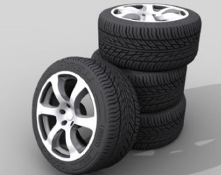 Un tas de pneus 3d model download free 3d models download for Pila pneus