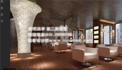 Salon de beaut¨¦ Salon de coiffure 3D Model Download,Free 3D Models ...