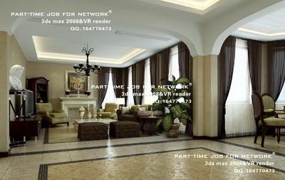 Un grand nombre de logements de luxe 3d model download free 3d models download for Un salon de luxe