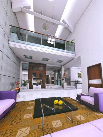 salon design moderne 3D Model Download,Free 3D Models Download