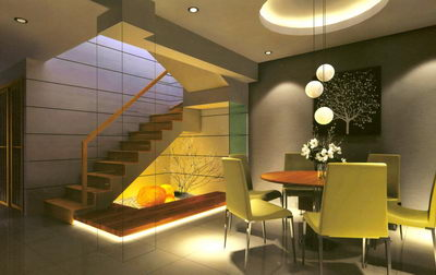 Salle manger design table ronde 3d model download free 3d models download for Home design interieur