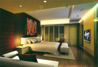 Chambre De Luxe L 39 Art Contemporain 3d Model Download Free