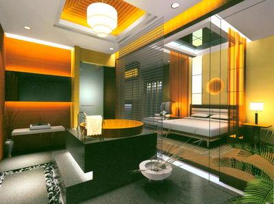 Chambre d 39 h tel avec spa 3d model download free 3d models for Mon salon en 3d