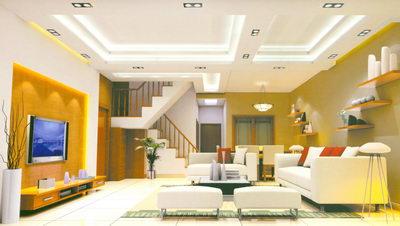 escalier dans une maison de la simplicit 3d model. Black Bedroom Furniture Sets. Home Design Ideas