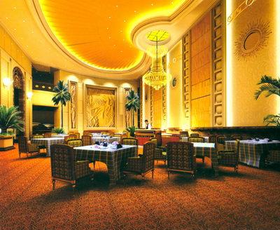 Restaurant design palatial salle manger 3d model for Salle a manger 3d