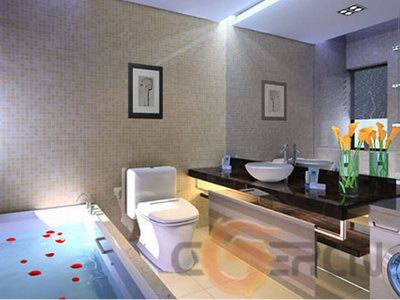Minimalism salle de bain design 3d model download free 3d - Modele de salle de bain design ...