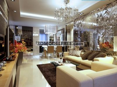 Modern Living Room Luxury Design