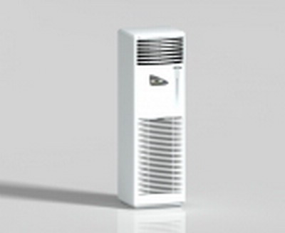 Modern air style blanc vertical conditionn¨¦ 3D model 2