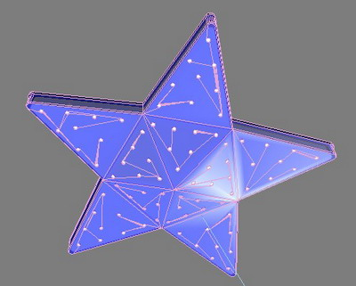 Fashion plafond star Mod¨¨les 3D