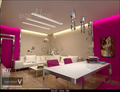 Salon 3D Model of Fashion