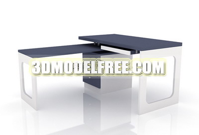 Bureau 3d model 3d model download free 3d models download - Modele bureau ...