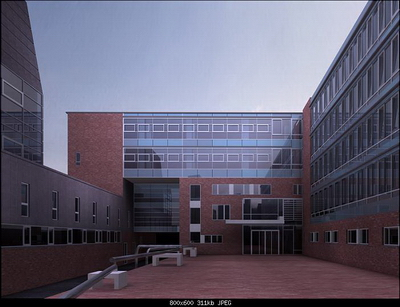3D Model of Business Building