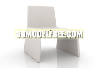 Mode chaise 3D Model of