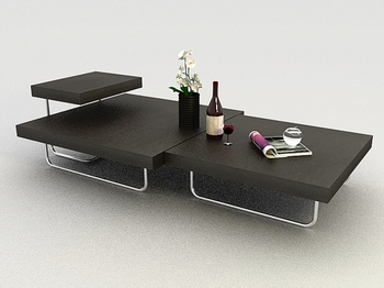 Table Basse Mod¨¨le 3D
