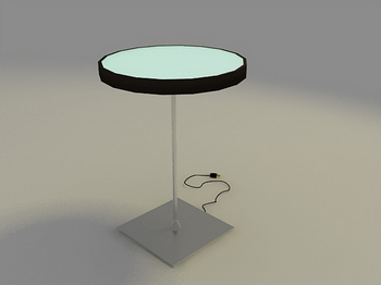 Mod¨¨le 3D de la Table Ronde