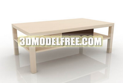Plateau de table, d¨¦corations de table ¨¤ caf¨¦ de meubles simples, simples mod¨¨les 3D