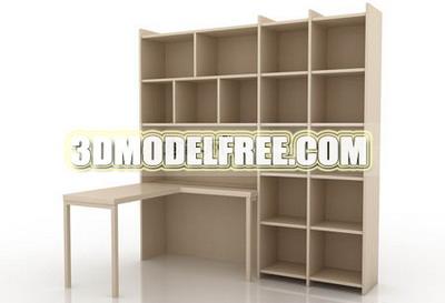 Casiers lit penderie lit bureau bureau de bois meubles en bois