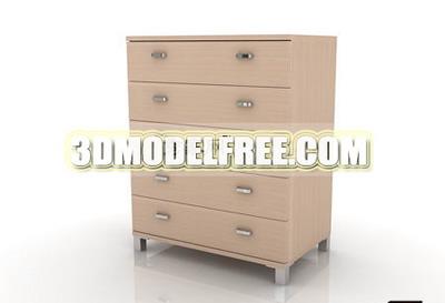 Meubles armoires armoire de sous 3d mod le de l for Meuble bureau 3d