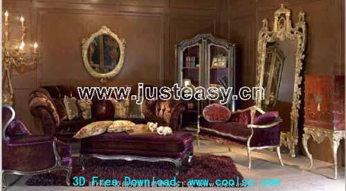La combinaison de meubles de style classique de luxe europ¨¦ens ...