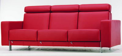 Red Sofa mod¨¨le 3D de la Mode