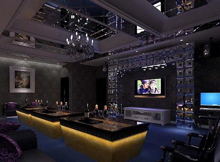 Mod le 3d de la salle de divertissement pour la famille for Sala de estar de mansiones