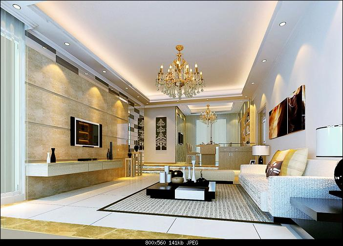 model decoration salon moderne luxury living room design - Model Ede Salon Moderne