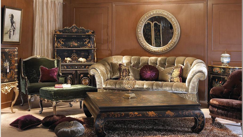 combinaison classique de meubles de luxe 3D Model Download,Free 3D ...