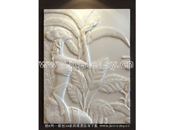 Exotic des caract¨¨res en relief
