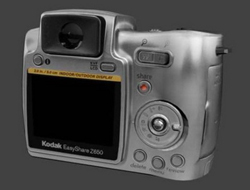 KODAK Z650 machine carte blanche