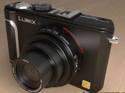 Panasonic LX3 machine carte noire