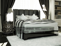 Europ¨¦enne style simple des chambres confortables