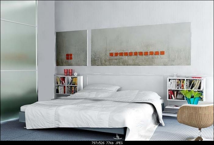 White l gante chambre coucher 3d model download free for Chambre a coucher 3d