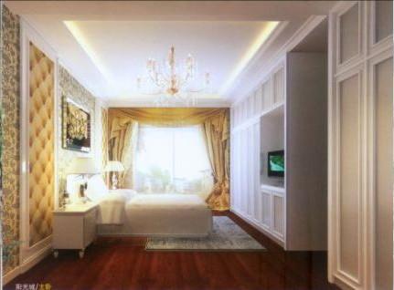 Simple de conception europ enne chambre de style 3d model for Conception chambre 3d