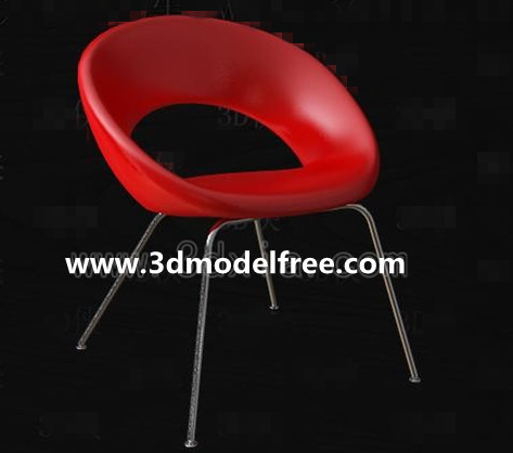 Chaise rouge Loisirs Mode