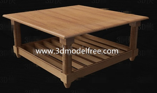 Table carr¨¦e ¨¤ th¨¦ en bois