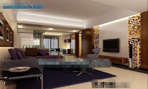 Commercial mod le 3d salon 3d model download free 3d for Living room 3d view