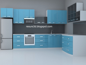 Moderne Armoires m¨¦nages bleue