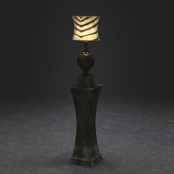lampe poser classique europ enne 3d model download. Black Bedroom Furniture Sets. Home Design Ideas