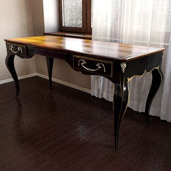Chinoise de table mod¨¨le 3D