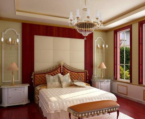 Superbe chambre confortable couleurs chaudes 3D Model Download ...