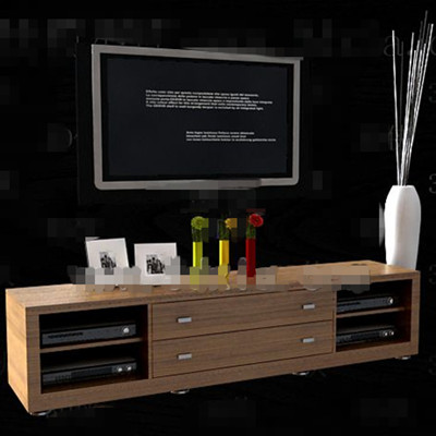 Cabinet moderne minimaliste TV ¨¤ long