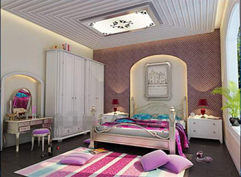 Modernes couleurs vives petite chambre 3d model download free 3d models download - Farben fr das schlafzimmer ...