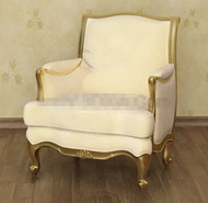 Pale chaise jaune canap¨¦ exquise