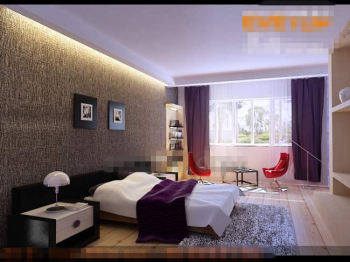 Frais et mode chambre pourpre 3d model download free 3d for Chambre a coucher 3d