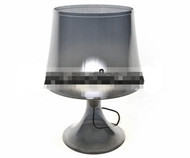 Transparent Lampe de table en verre
