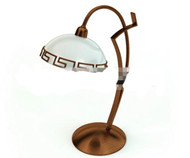 Retro lampe m¨¦tallique simple