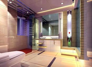 Moderne grand mod le toilette 3d model download free 3d for Model de salle de bain moderne