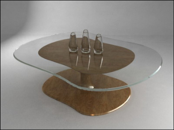Mod¨¨le 3D table ¨¤ th¨¦